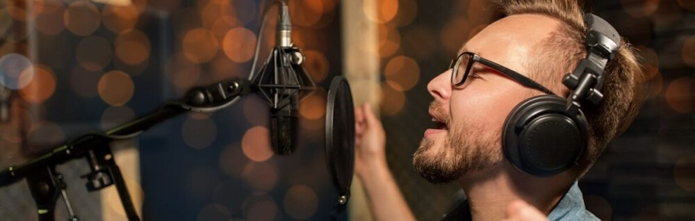 Запись голоса на студии