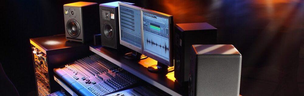 Услуги звукозаписывающей студии