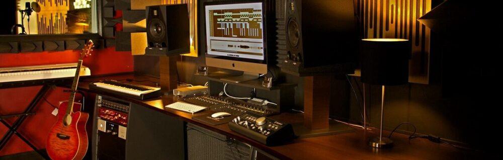 Запись в студии звукозаписи